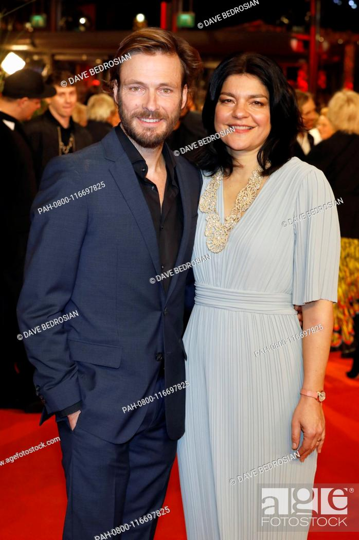 https www agefotostock com age en details news photo andreas pietschmann and jasmin tabatabai attending the festival opening with the the kindness of strangers premiere at the 69th berlin international film pah 0800 116697825