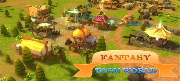 Fantasy Toon World for RPG - MMO