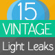 Vintage Light Leaks 15 Pack