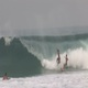 2 Surfer's Wiping Out