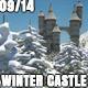 Winter Snow Fantasy Castle 09