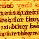 Random Text In Motion 282