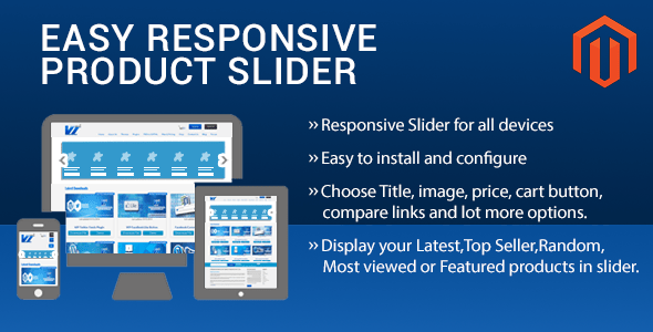 Easy Responsive Product Slider Magento Extension By Vivacity InfoTech
