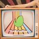 The Retro TV Girl - Rainbow Party
