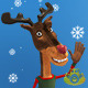 Christmas Reindeer Greetings