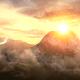 Sky and Mountains Logo