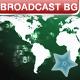 Broadcast world map - Background