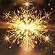 Golden Snowflake Christmas