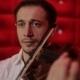 Elegant Emotional Man Violinist Fiddler Playing
