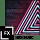 Neon Music Visualizer Audio React
