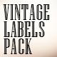Vintage Labels Pack