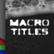 Titles Macro