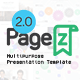 PageZ - Multipurpose Presentation Template
