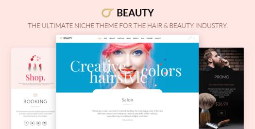 Salon de coiffure - Coiffeur WordPress