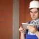 Worker Taking Pictures And Doing Calculations With Your Tablet