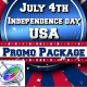 July 4th USA Patriotic Broadcast Promo Pack - Apple Motion