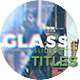 Glass Slideshow Titles