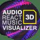 Audio React Music Visualizer 3D