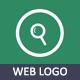 Web Search Minimal Logo