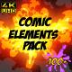 Comic Element Pack