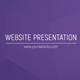 Clean Website Presentation