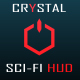 Crystal Sci-Fi HUD Pack