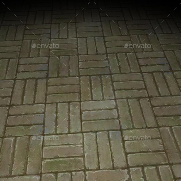 ground stone tile 5