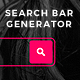 Search Bar Generator