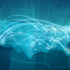 Globalization USA Map Animation HD