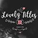 Lovely Titles