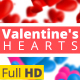 Valentine Hearts Animated Backgrounds