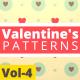 Valentine Hearts Animated Patterns Vol-4