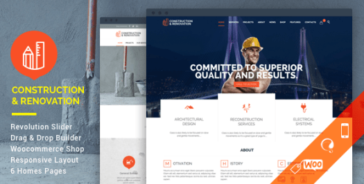 Construction - Construire WordPress