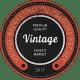 16 Vintage Badges
