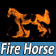 Real Fire Horse