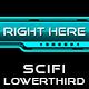 SciFi Lowerthird