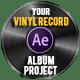Vinyl Record Logo