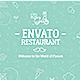 A1/ Envato Restaurant/ New Cafe/ Chef's Burger/ Vegetarian Menu/ Fast Food/ Street Food Market/ TV