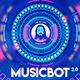 Musicbot 2.0 Visualisator and Audio React HUD Background Creator