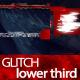 Glitch Shape Lower Third