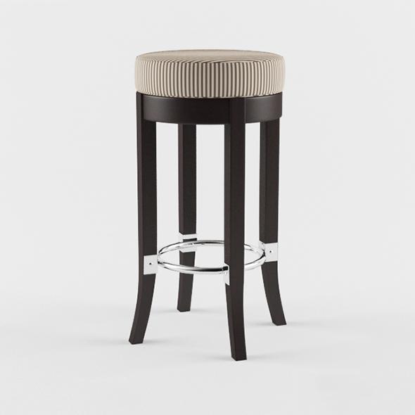 Vray Ready Modern Bar Chair