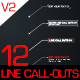 12 Line Call-Outs Pack