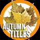 Autumn Titles 2