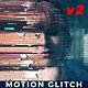 Fast Motion Glitch Slideshow