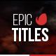 Epic Titles For Final Cut Pro X