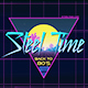 Steel Time – Retro 80s Logo Reveal