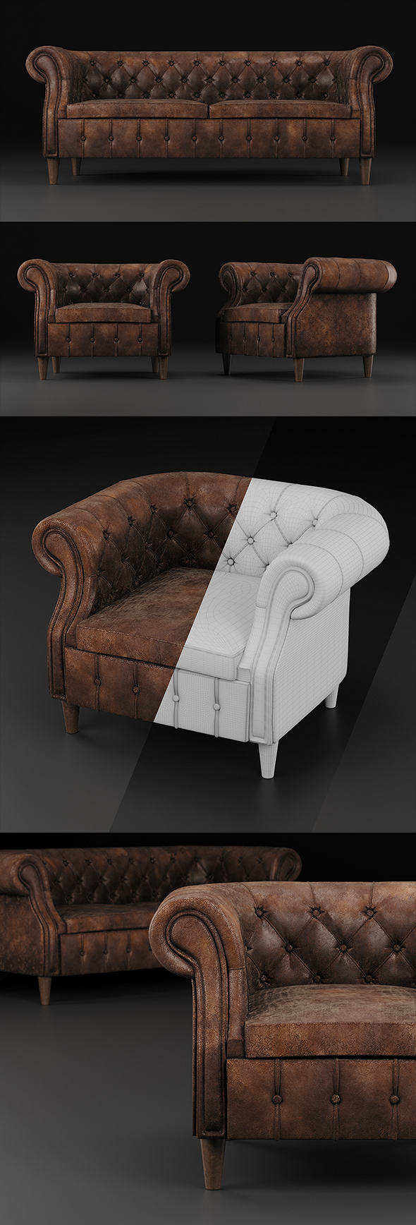 Chair and sofa Chelsea