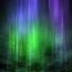 Dark Night Sky Aurora Background