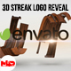 3D Wooden Streak Logo Reveal
