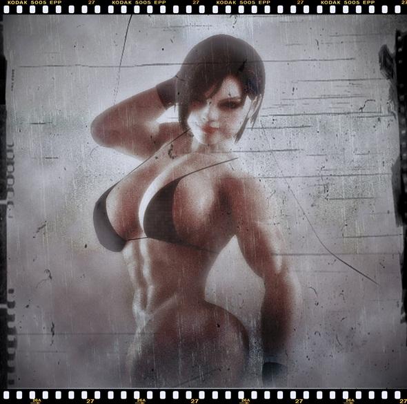 Jill Valentine MUSCLE